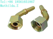45 Degree Metric Female Flat Seal Hose Couplings 20241 (HR-92)