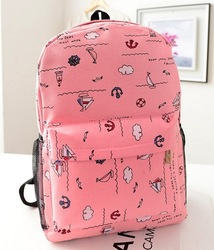 Autumn student Korea style small pure and fresh and new backpack bag wholesale