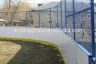 synthetic skating fake ice rink/hockey training shooting sheet/panel/fence/barrier
