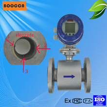 2014 high quality Electromagnetic flow meter water
