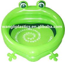 Hot sale baby animal swim pool inflatable frog shape swim pool