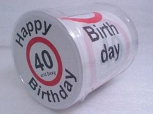 birthday design toilet paper roll/Roll Paper/Paper tissue
