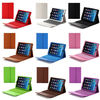 For iPad 2 3 4 5 Retina iPad Air Stand Leather Case Cover with Bluetooth Keyboard