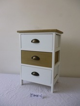 wooden furniture with two colour drawer