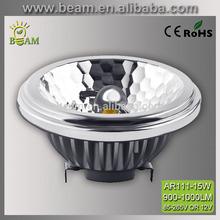 LED spotlight 15W AR111 Reflector Bean Lamp 25 watt bulb