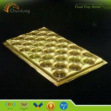2014 New Golden plastic Chocolate/moon cake Tray