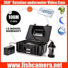 360 degree 100m underwater robot camera