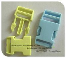 plastic quick side release belt buckle ,for backpack buckle