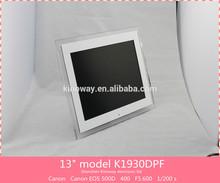 13inch multimedia digital photo frame,lcd multi function digital photo frame