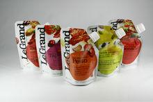 KOLYSEN plastic spout pouch stand up shape \Plastic Fruit Juice Spouted bag/Standing Spout Pouch With cap