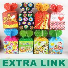 Color Printing Paper Card Christmas Apple Box