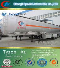 50tons, 3 axles aluminum alloy, bulk cement tank truck trailer for sale