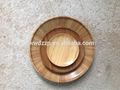 piatto di bambù