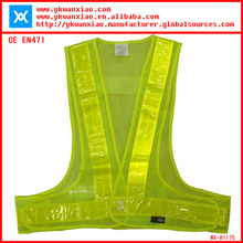 polyester model blouse for uniform CE EN471