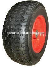 16''x6.50-8 big lawn mower pneumatic rubber wheel
