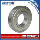 single metal seal 6000-z deep groove ball bearing