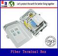 16 núcleos de cable al aire libre caja de distribución, el tendido de cables de equipos