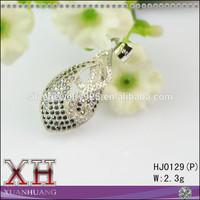 Celebrity Engagement Rhodium Plated Zirconia Diamond Pendant