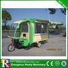 Three wheels electric/gasoline food cart price