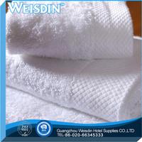 woven made in China microfiber fabric antibacterial grid bamboo fiber towel hand towel