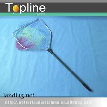aluminium telescopic nylon fish fishing landing net