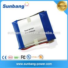 Model 507097 lipolymer 3.7v 4200mah battery ,10.8v 4200mah battery pack