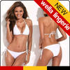 WELLA LINGERIE hot sexy bandage White swimwear string bikini