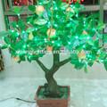 Charme pistache árvore com luz LED