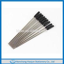 Cheap thin metal ball pen cross pen refills