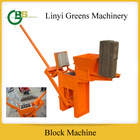 QMR1-40 manual clay interlocking brick machine manual press brick price for sale