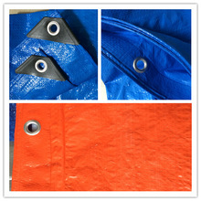 Hard laminated fabrics waterproof pallet covers 3x3 Tarps