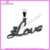 new design stainless steel love you letter alphabet pendant