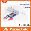USB Memory Card Reader / usb hub with sd card reader /usb hub otg card reader for note III