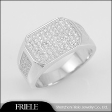 925 sterling silver jewelry wholesale cz stone ring designs for men