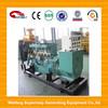HOT sale! 100kw biogas generator with radiator 3phase 50HZ 400V