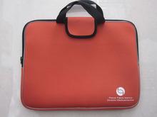 Promotional cheap custom waterproof neoprene laptop sleeve with handle