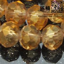 Clear Crystal Beads Glass Bead Fashion Jewelry Machine Cut
