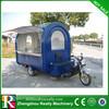 Gasoline Food Cart with three wheels