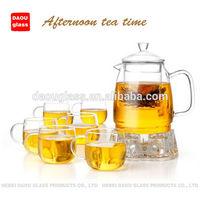 hand made glass teapot ,glassware ,glass tea set ,glass pots ,glass pitcher ,1200ml