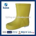 crianças sapatos de borracha bonito barato amarelo criança botas de chuva