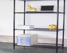chrome wire shelf magazine rack
