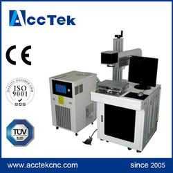 acctek YAG steel marking accuracy stainless steel elbow making machine 50w/75w