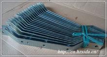 high precision aluminium pole mount bracket