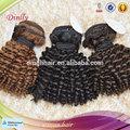 6a grau cor natural comprimento curto lovely onda kinky afro cabelo humano pacotes