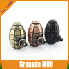 Top selling new products E cigarette Mechanical Mod Cool design Grenade Mod Hand Grenade
