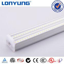 100 lm/w Korea Dual Integrated T5 LED Tube Light 9w 18w 60w Double Tube5 LED Fluorescent Lamp