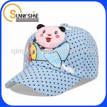 Sunny Shine custom wholesale baseball cap patch child fabric hat