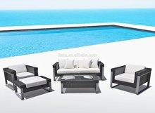 Cheap outdoor wicker furniture rattan sofa /outdoor rattan sofa bed /rattan sofa cushion covers