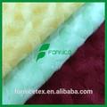 De la felpa pv/fabric100% de felpa de poliéster suave remolino de tela estampada
