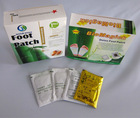 Bamboo slimming foot patch,the treasure of the foot